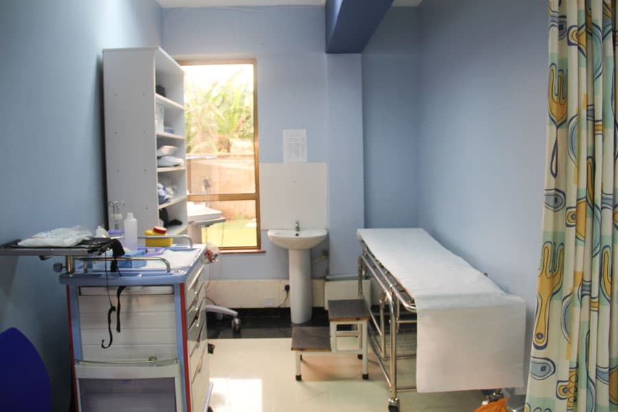 outpatient consultation room