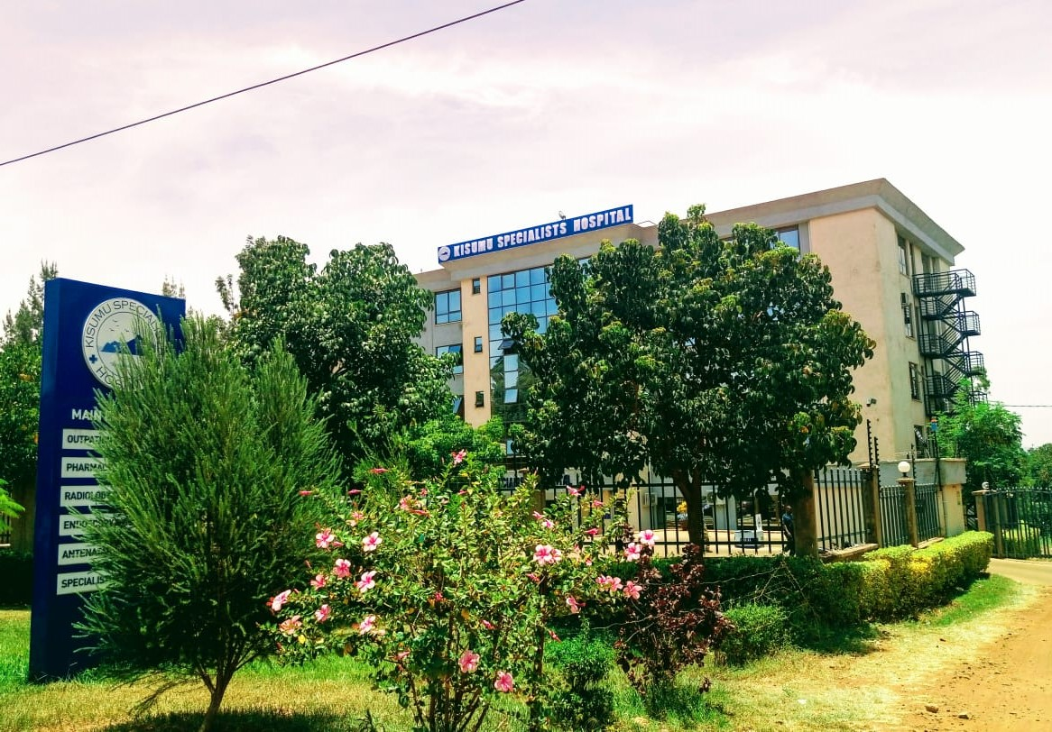 Kisumu specialists hospital front